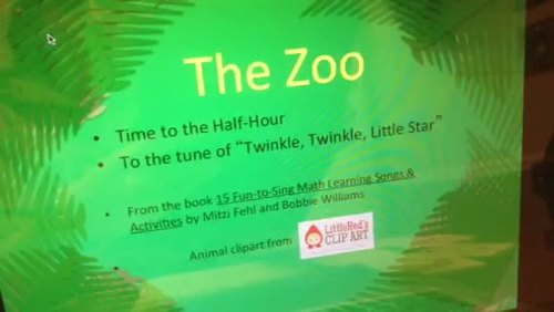Telling Time to the Hour and Half Hour with A Trip to the Zoo