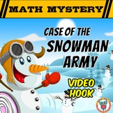 Winter Math Mystery - Case of the Snowman Army