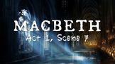 Line by Line: Shakespeare's Macbeth (1.7)
