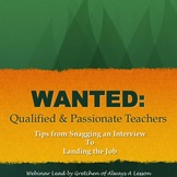 Keys to Effectively Interviewing for a Position in Education