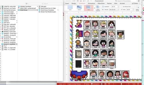 Powerpoint templates stress free reading block by keri brown tpt powerpoint templates stress free reading block play toneelgroepblik Images