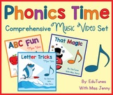 Phonics Time Standards-Based Video Set: Streaming, Downloa