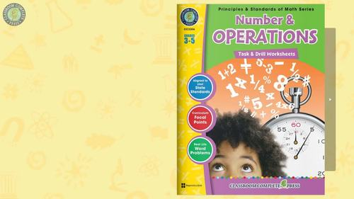 Number & Operations - Task & Drill Sheets Gr. 3-5
