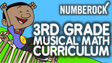3rd Grade Musical Math Centers Curriculum: With Worksheets