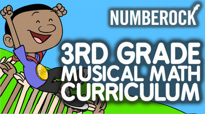 3rd Grade Musical Math Centers Curriculum: With Worksheets, Games & Activities