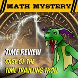 Time Math Review Math Mystery VIDEO HOOK - Case of The Tim
