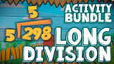 ♫♪ Long Division Worksheets, Game, & Animated Video  ♫♪ by