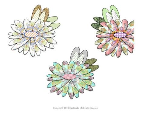 Shabby Chic Flower Clipart