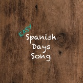 Spanish Days of the Week Song (FREE)