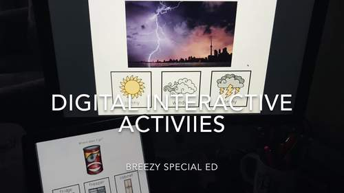 Digital PDFs ⋅ BUNDLE ⋅ Interactive Activities for Special Education