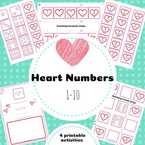 Heart Numbers Pack