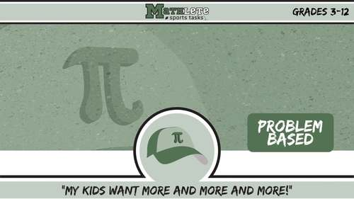 Mathlete Sports Tasks -- PRE-ALGEBRA BUNDLE -- 27 Activities!
