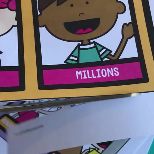 Place Value Street - DIY Giant Classroom Poster or Learning Mat