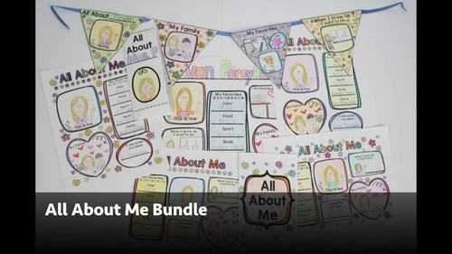 All About Me- The Bundle