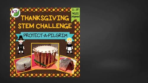 Thanksgiving STEM Challenge: Protect-a-Pilgrim