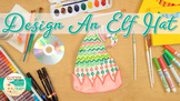 Christmas Craft: Elf Hat Art Project, Roll-A-Dice Game, &