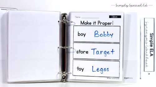 Simple ELA FULL Curriculum Bundle