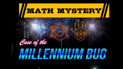 New Years Activity: 5th Grade New Years Math Mystery
