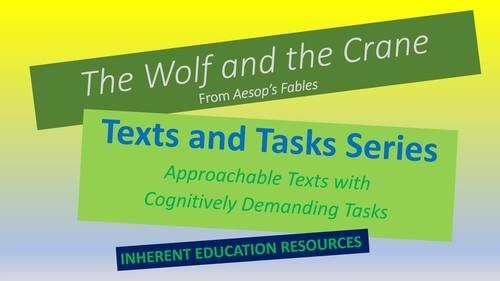 Texts and Tasks: The Wolf and the Crane