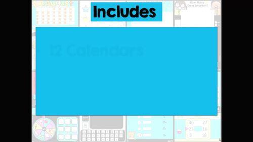 Interactive Digital Calendar and Activities