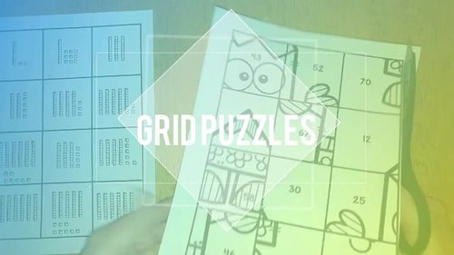 *Telling Time | Clock Activities | Grid Puzzles