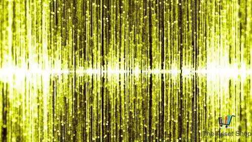 Motion Graphics Background HD (1080p) - Falling Gold #3