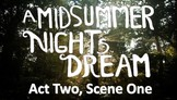 Line by Line: A Midsummer Night's Dream (2.1)