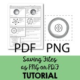 Savings Files as PDF or PNG in Illustrator