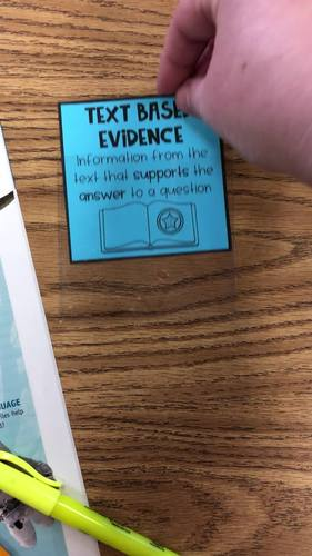 Mini Reading Anchor Charts TARGET LABELS