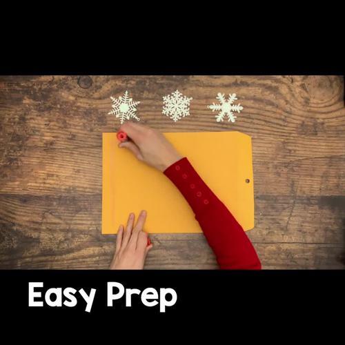 Winter Task Cards Math 2nd Grade