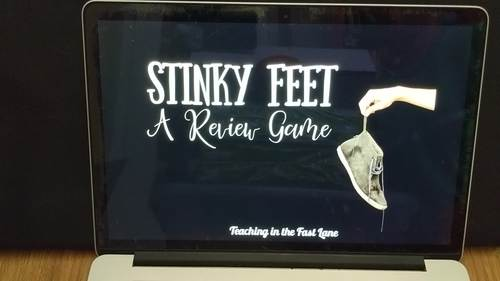 Multiplying Decimals Review Game Stinky Feet