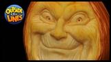 Grinning Pumpkin Sculpting