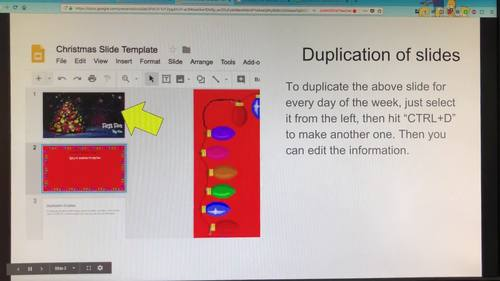 animated christmas google slides by justinotherteacher tpt