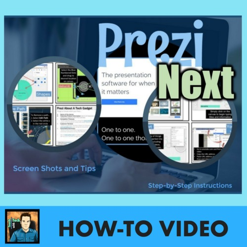 Prezi Presentations Video And How To Guide By Gavin Middleton Tpt