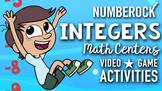 Introduction to Integers: Multimedia Bundle ★ Game, Video