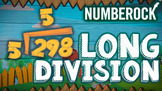 Long Division Song & Music Video Animation Activity for Yo