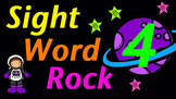 Sight Word Rock 4 Video (Fry's Sight Words 31-40)
