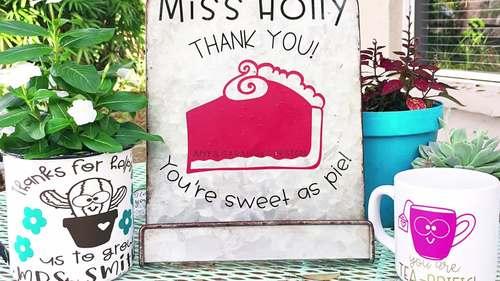 Sweet As Pie SVG Design