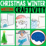 Winter and Christmas Writing Craftivity w/ Video