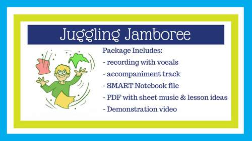 "Classroom Scarf Activity | ""Juggling Jamboree"" 