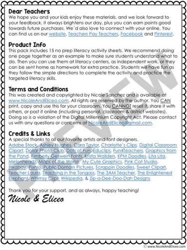 CVC Word Worksheets 1