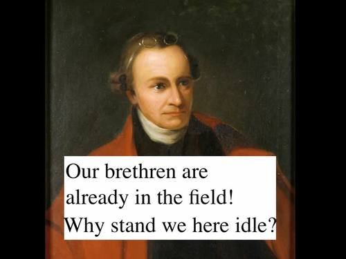 Patrick Henry Speech - Give Me Liberty or Give Me Death