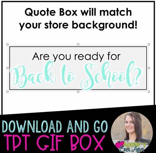 BACK TO SCHOOL GIF BOX FREEBIE