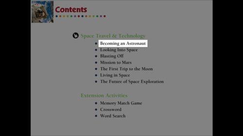 Becoming an Astronaut - NOTEBOOK Gr. 5-8