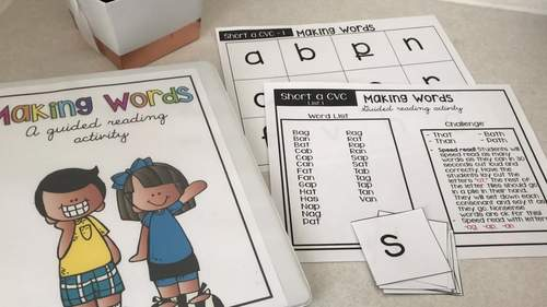 Making Words A Guided Reading Activity