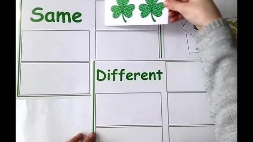 St Patrick`s Day Speech Therapy Activity