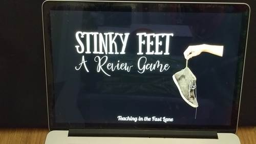 Simplifying Expressions Review Game Stinky Feet