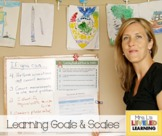 Learning Goals & Scales Math Bundle Preview