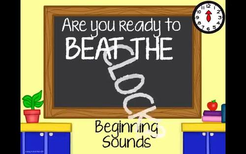 Beat the Clock R-Controlled Vowels
