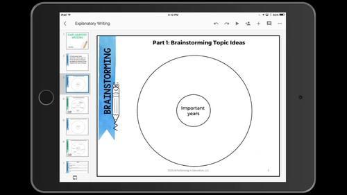 Digital Complete Guide to Explanatory Writing Gr 4-5 (Google Classroom)